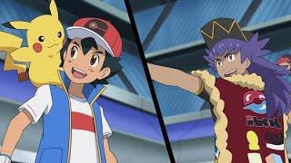 UK: Ash Battles Leon! | Pokémon Journeys | Official Clip