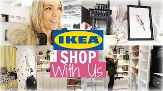 IKEA COME SHOP WITH US - WHAT'S NEW IN IKEA JANUARY 2019 | Alex Gladwin