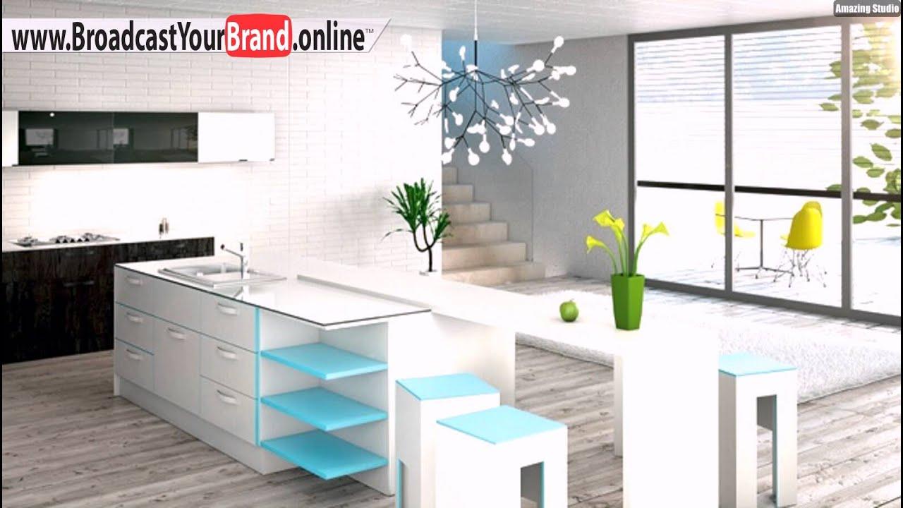 Sequenz Bax Unternehmen Moderne Kücheneinrichtung