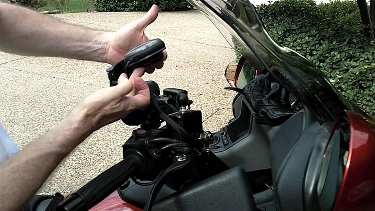 Honda Goldwing 2018 >> Install GXM 30A Antenna on Honda Goldwing - YouTube