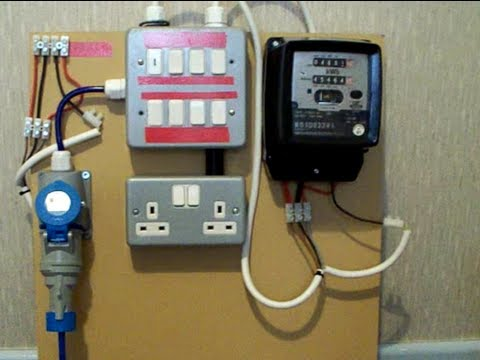 Electricity Meter : (1 of 2) Metering Board Demo.