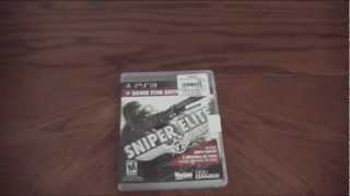 Sniper Elite V2 Silver Star Edition Unboxing