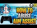 How To Abuse Aim Assist + Improve Your Aim PS4/Xbox Fortnite! (Fortnite Controller Aim Guide)