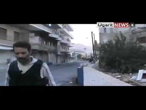 11 10 Al Zabadani Damascus أوغاريت الزبداني ريف دمشق , إلحاق خسائر كبيرة بحاجز المهرجان ج4