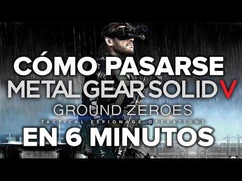 Cómo pasarse MGS: Ground Zeroes en 6 minutos - Eurogamer