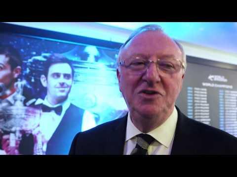 Snooker legends pay tribute to Steve Davis