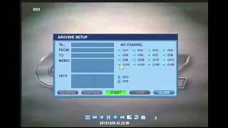 How to Search by Time on Ganz Digimaster DVR (H.264 Models) Training Video
