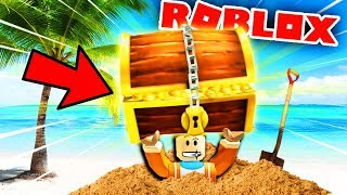 THE BEST BURIED TREASURES ON MY OWN PRIVATE ISLAND?! | Roblox Treasure Hunt Simulator Gameplay