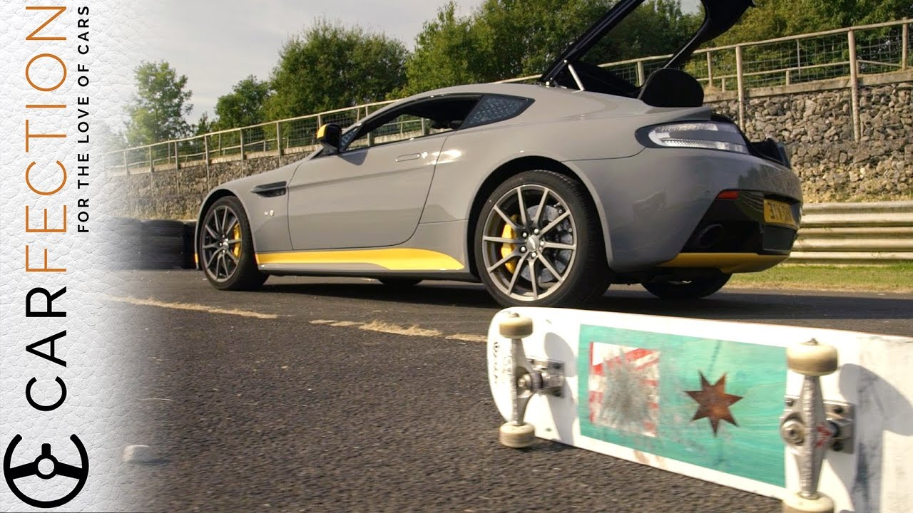 Aston Martin Vs Skateboard: Behind The Scenes Of Carfection