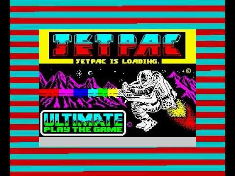 ZX Spectrum 48K Jetpac (Ultimate Play The Game) 1983