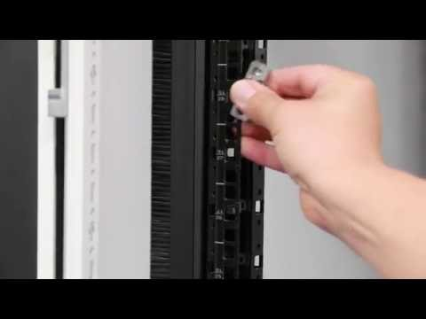 Rittal's 19 inch Fastener for IT Racks