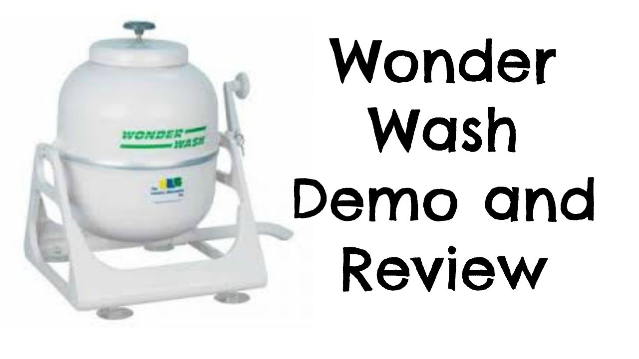 Elegant WONDER WASH DEMO AND REVIEW