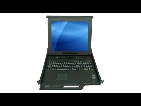 "MKD6017D - 17"" Industrial Monitor Keyboard Drawer & 8-port KVM Switch"