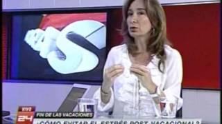 Canal 24 Horas TVN - Recomendaciones para volver al trabajo sin estrés