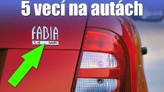 5 vecí na autách ktorým nerozumiem. Fakt. - volant.tv