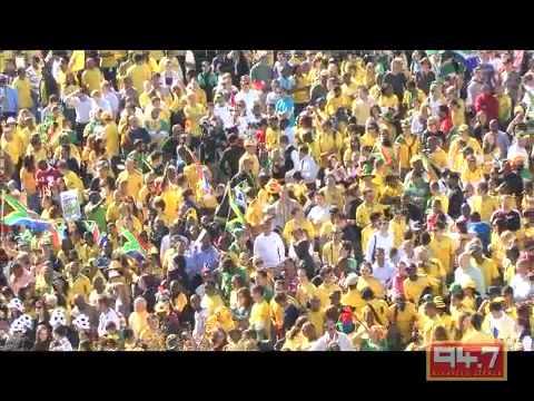 94.7 Highveld Stereo United 4 Bafana Bafana Parade in Sandton