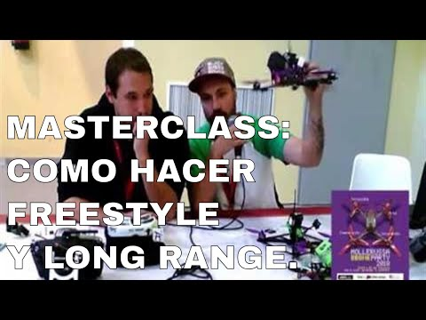MDP2018 - Masterclass: Long Range y FreeStyle