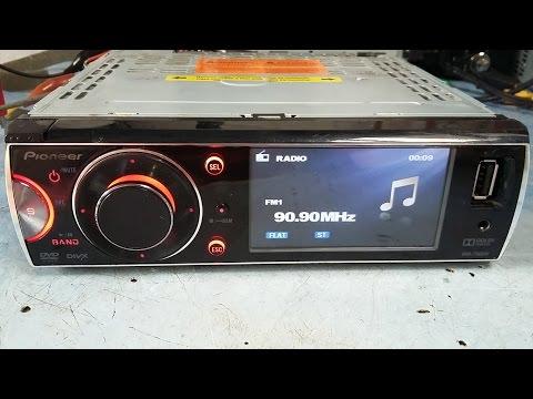 """Pioneer DVH-7580AV """"amp error"""" troca da saída PA2030"""