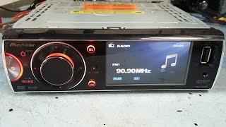 Pioneer DVH-7580AV 'amp error' troca da saída PA2030