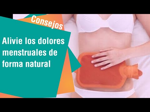 Alivie los dolores menstruales de forma natural