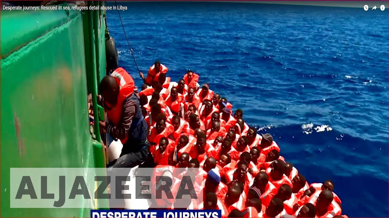 Desperate journeys: Rescued at sea, refugees detail abuse in Libya