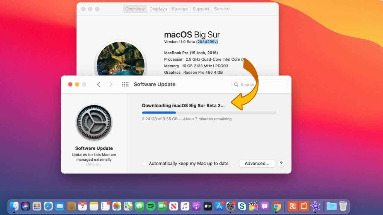 macOS 💻 Big Sur Beta 2 Is Out! - Wrong Version But  Works Great
