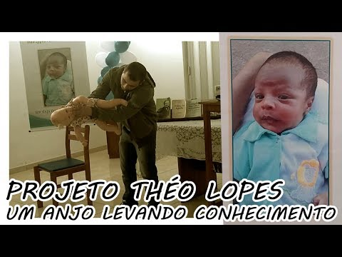 Projeto Théo Lopes - Um anjo levando conhecimento