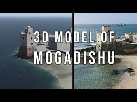 Somali Architecture Presents: Mogadishu 3D Model - What Remains