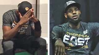 Cavaliers Players In SHOCK After Winning Game 7 vs Celtics & Advancing To The NBA Finals