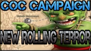 Clash of Clans Campaign - New Rolling Terror 3 Star/100% Attack