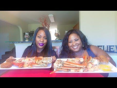 Grilled Seafood Mukbang!!!!!
