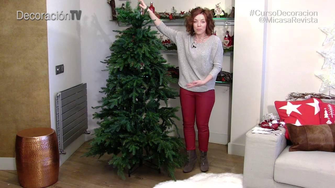 Cómo Montar El árbol De Navidad Curso De Decoración Mi Casa Decoracióntv Youtube