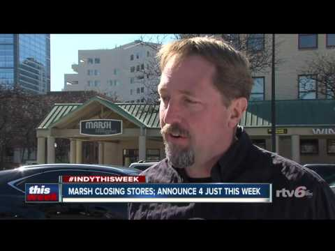 Is the Marsh supermarket chain in trouble?