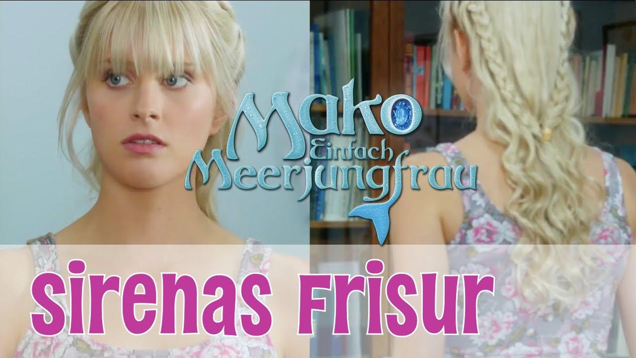 Sirenas Frisur Mako Einfach Meerjungfrau Beauty Special