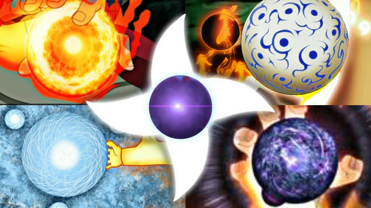 100 Strongest RASENGAN - All 117 Types Of RASENGAN FORMS w ...