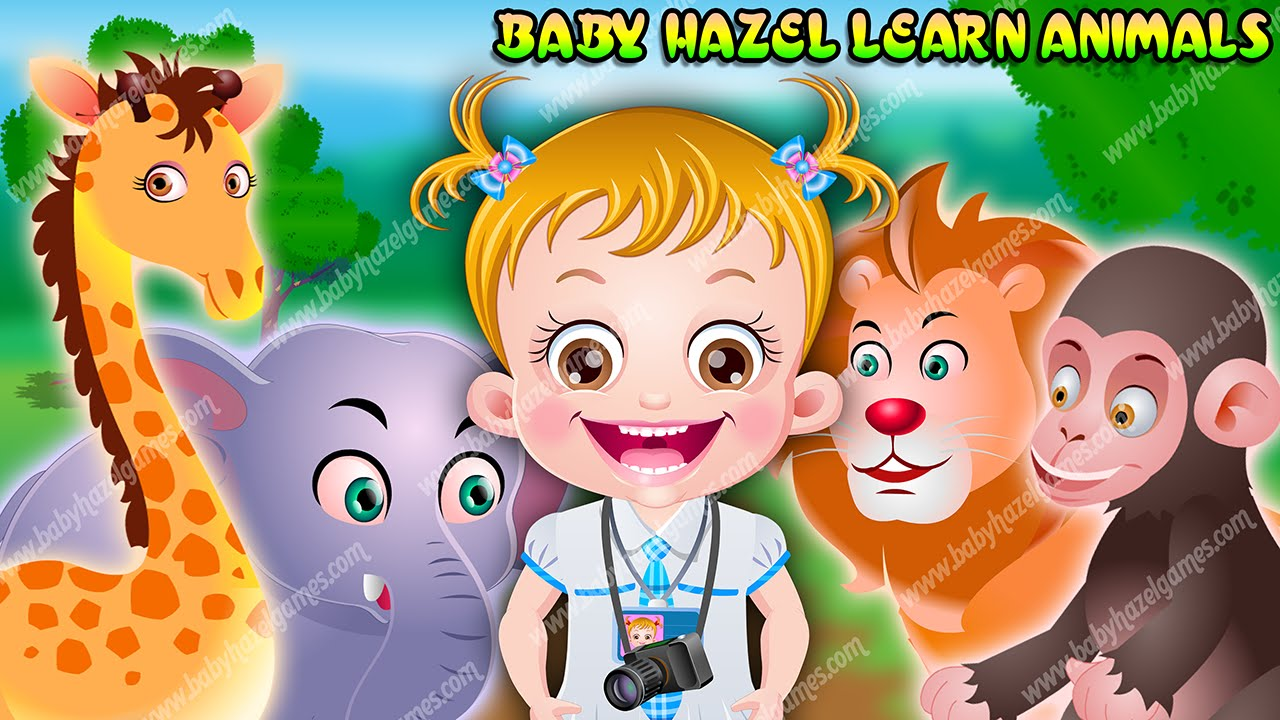 Baby Hazel Learn Animals | Fun-Baby-Games.com