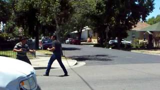 Fights!! Two Mexicanos fighting for one woman? Stockton CA