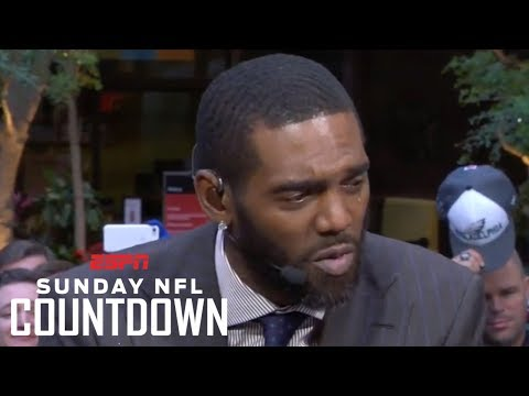 Randy Moss gets emotional talking about his Hall of Fame induction | NFL Countdown | ESPN