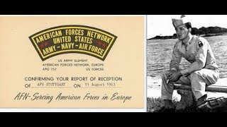 "American Forces Network ( AFN ) Radio 1960's - "" This is Midnight in Europe """