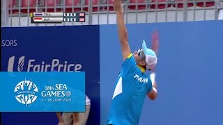 Tennis Team Men's Team Final (Day 4) - Thailand vs Indonesia Match 2 | 28th SEA Games Singapore 2015
