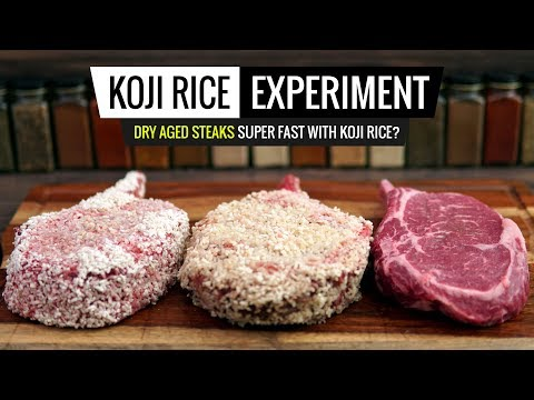 sous-vide-koji-rice-experiment---dry-aging-in-48hrs---does-it-work?
