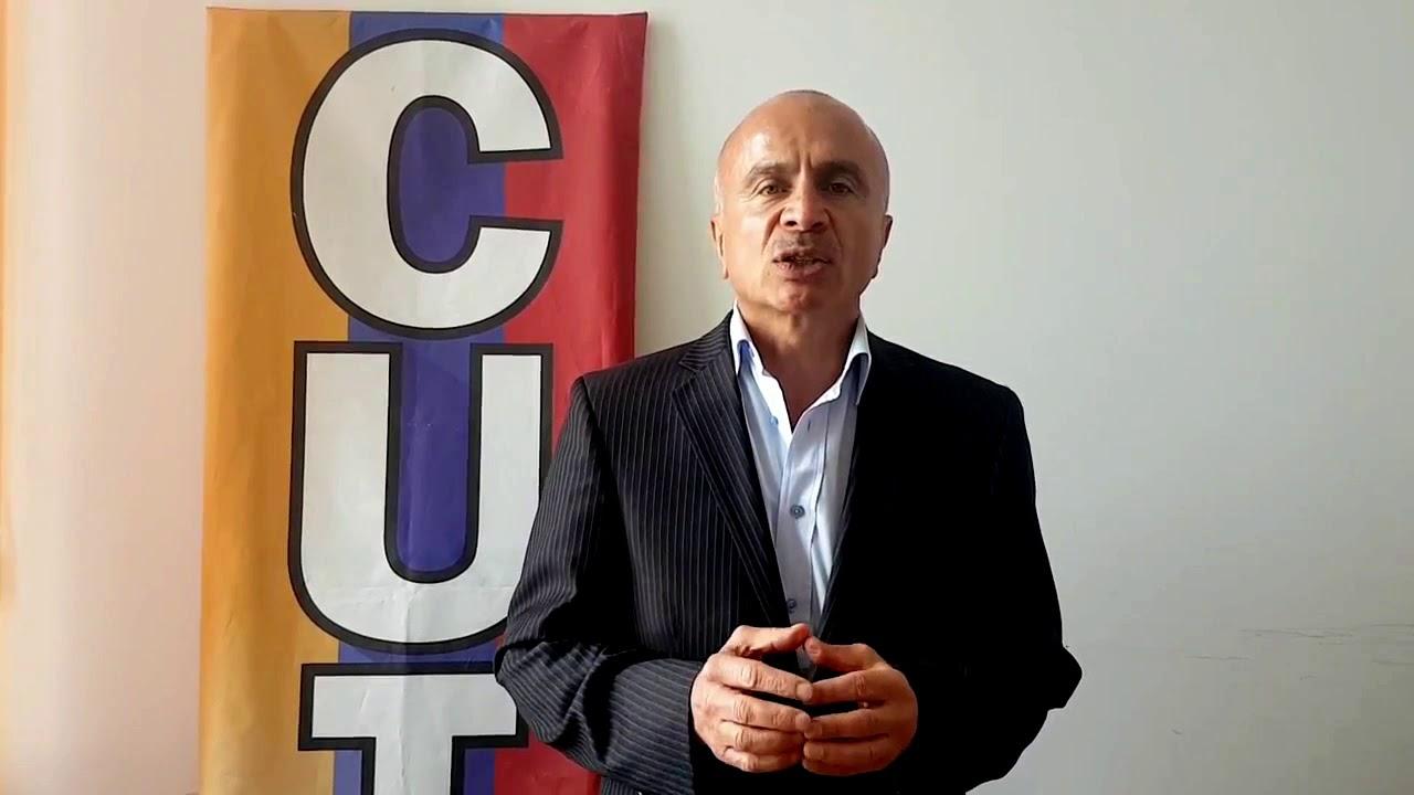 Francisco Maltés, CUT Colombia - YouTube