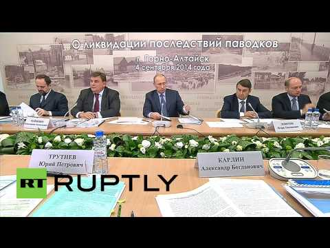 Russia: Putin says 'Siberia elements taught us a serious lesson'