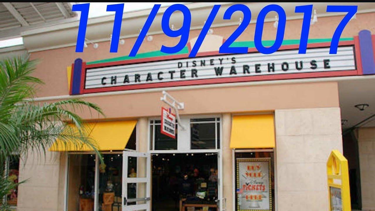 9300e122afb2 Disney Character Warehouse update 11 9 17