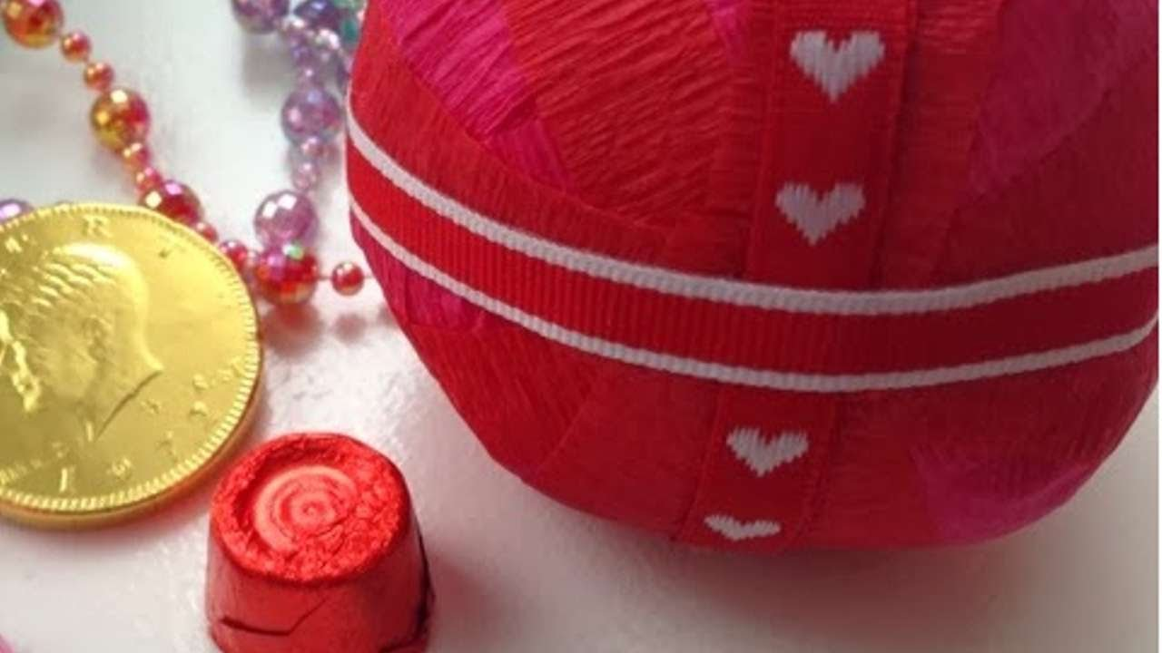 Sorprese San Valentino Per Lei crea una sfera con sorpresa per san valentino - fai da te creazioni -  guidecentral