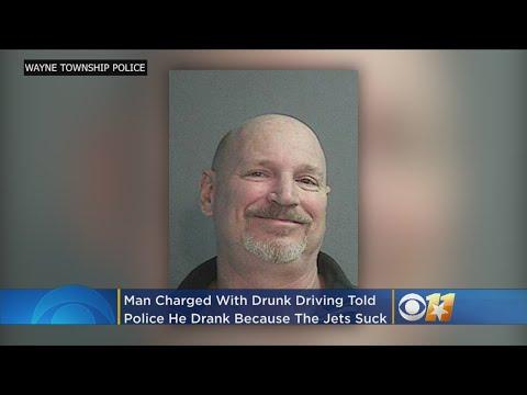 Nard - NJ Man Blames The NY Jets For HIS Drinking