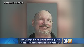 'I Drank Too Much Because The Jets Suck': Man Blames Football Team For DWI Charge