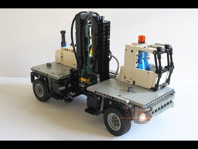 Lego Technic Side-Loading forklift | 42043 C model