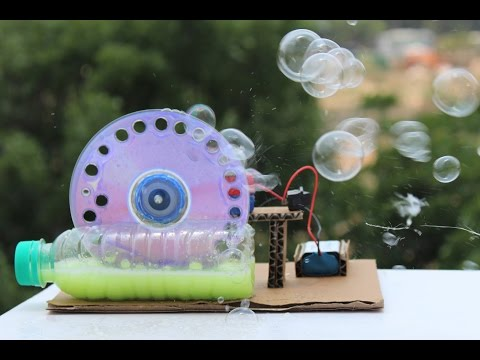 How To Make a Bubble Machine - make your own creation