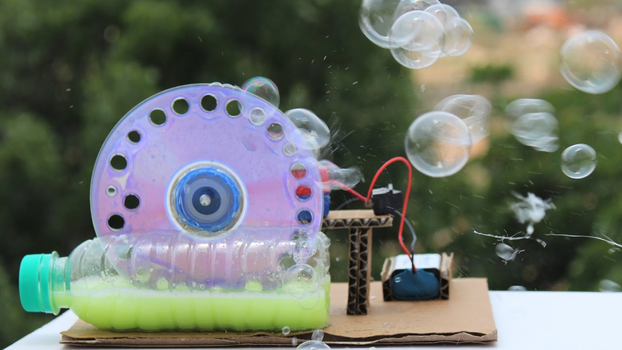 how to make bubble machine video download